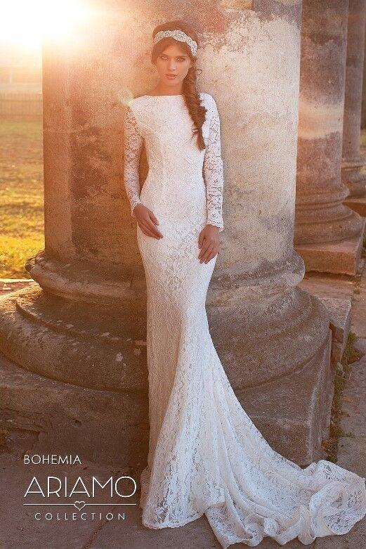 Свадебное платье напрокат Ariamo Bridal Платье свадебное Bohemia - фото 1