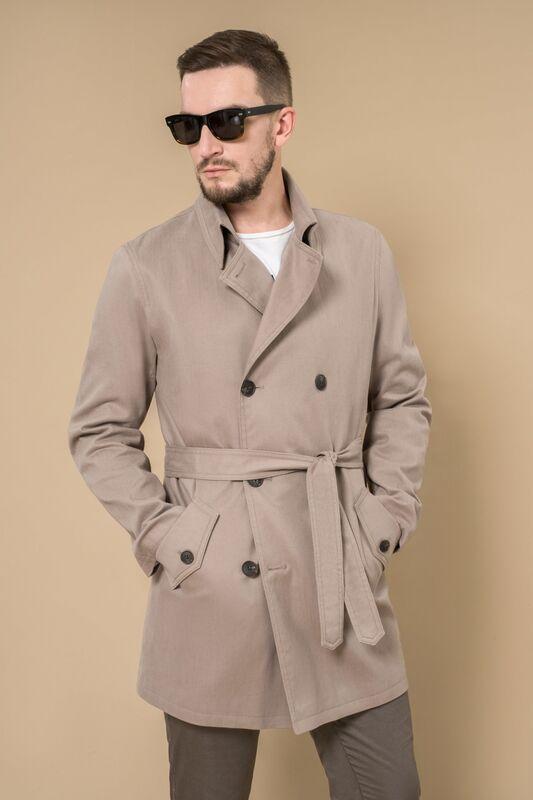Верхняя одежда мужская Etelier Плащ 2М-8679-1 - фото 1