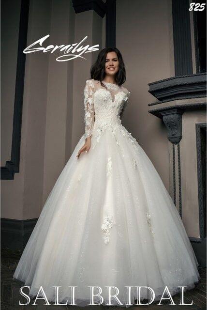 Свадебный салон Sali Bridal Свадебное платье 825 - фото 3