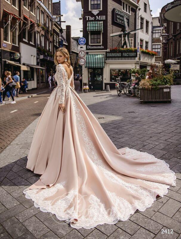 Свадебное платье напрокат Lavender Свадебное платье Kasandra - фото 2