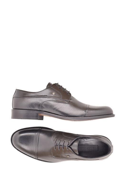 Обувь мужская HISTORIA Туфли дерби черные Sh.B.74518 - фото 3