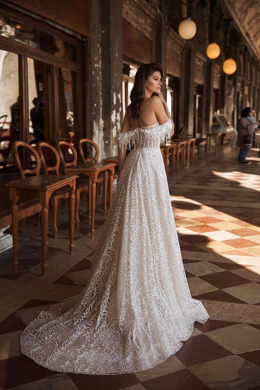 """Свадебное платье напрокат ALIZA свадебное платье """"Bettini"""" - фото 3"""