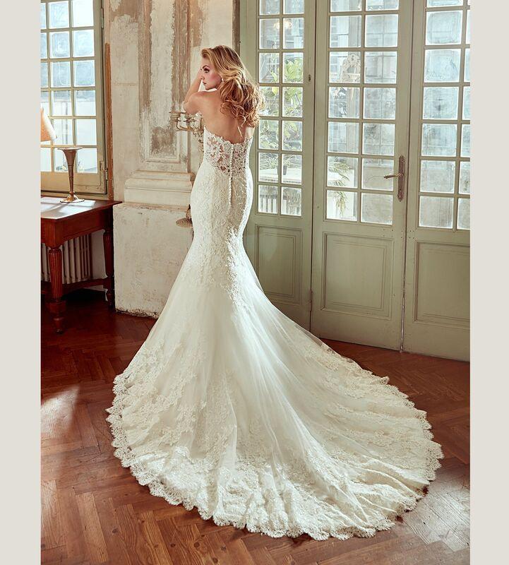 Свадебное платье напрокат Nicole Платье свадебное Bella - фото 2