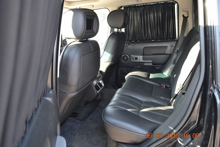 Прокат авто Range Rover Sport черного цвета - фото 5