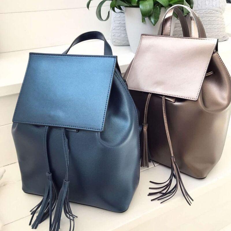 Магазин сумок Vezze Кожаный рюкзак С00222 - фото 2
