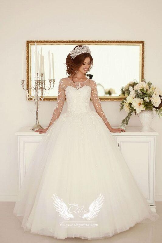 Свадебное платье напрокат ALIZA Свадебное платье «Konfetti» - фото 1