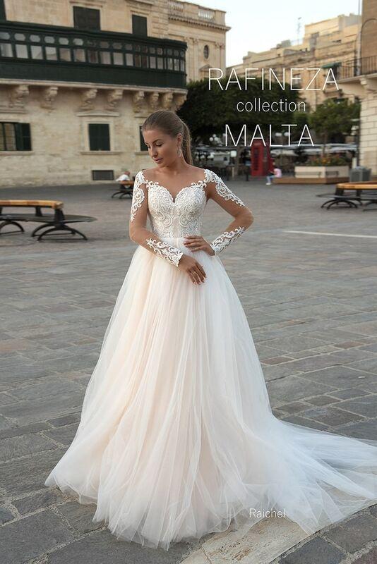 Свадебное платье напрокат Rafineza Свадебное платье Raichel напрокат - фото 1