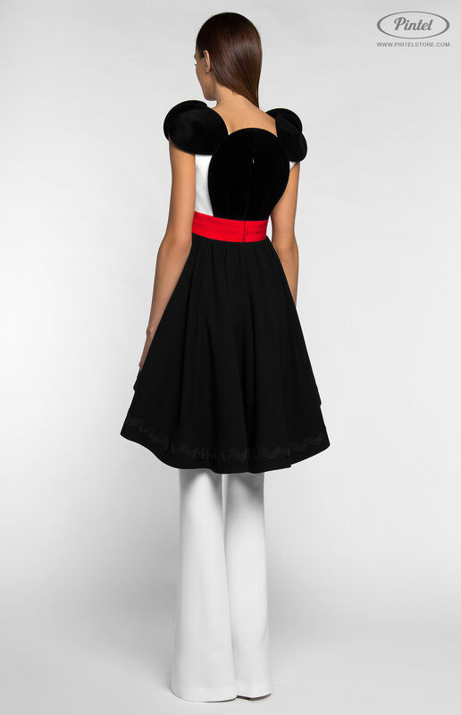 Костюм женский Pintel™ Костюм из платья и брюк DEEPSHIKA - фото 4