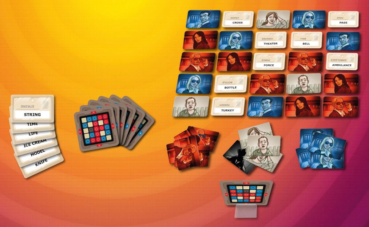 Магазин настольных игр GaGaGames Настольная игра «Кодовые Имена» - фото 4