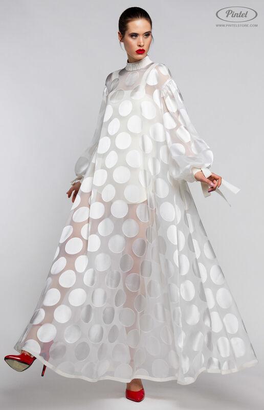 Костюм женский Pintel™ Комплект из накидки и приталенного мини-комбинезона LACOIYA - фото 2