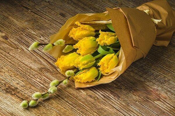 Магазин цветов Цветы на Киселева Букет-комплимент «Весна» - фото 1