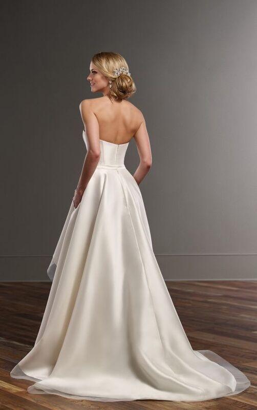Свадебное платье напрокат Essense of Australia Платье свадебное Carter Sia - фото 2