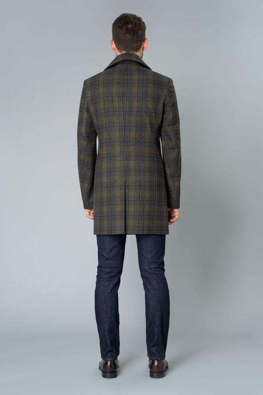 Верхняя одежда мужская Etelier Пальто мужское демисезонное 1М-9411-1 - фото 3