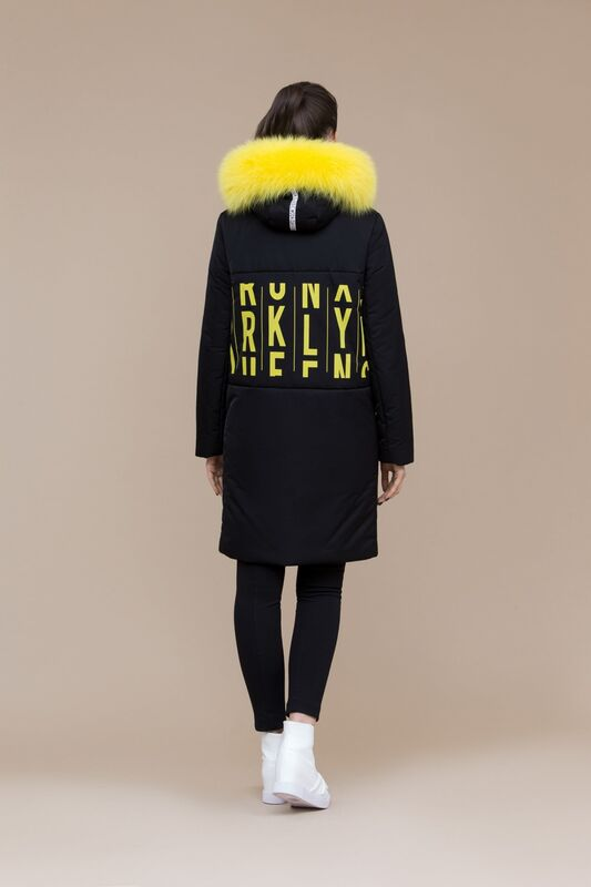 Верхняя одежда женская Elema Пальто женское плащевое утепленное 5-8100-1 - фото 2