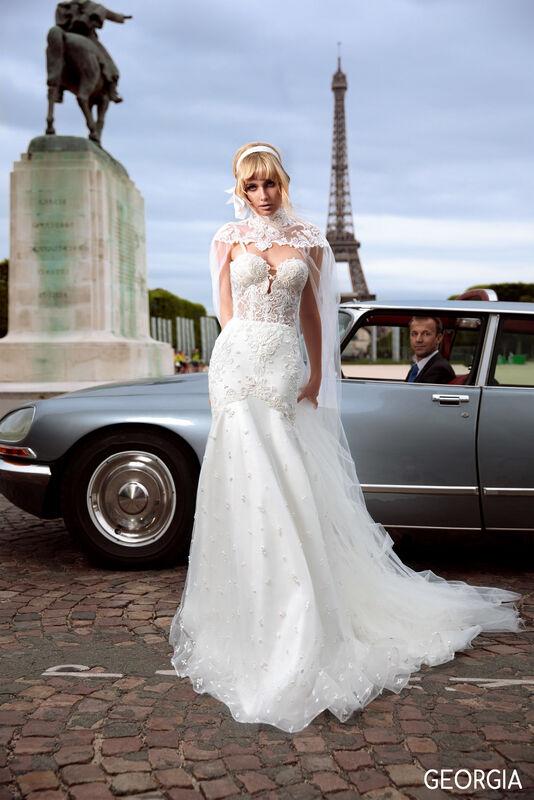 Свадебный салон Bonjour Galerie Платье свадебное GEORGIA из коллекции BON VOYAGE - фото 5