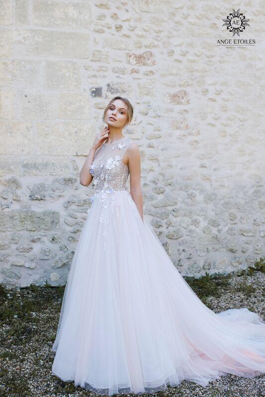 Свадебное платье напрокат Ange Etoiles Платье свадебное AEriality Collection  Shana - фото 1