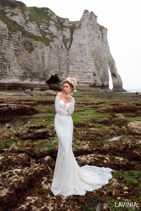 Свадебный салон Bonjour Galerie Свадебное платье LAVINIA из коллекции BON VOYAGE - фото 3
