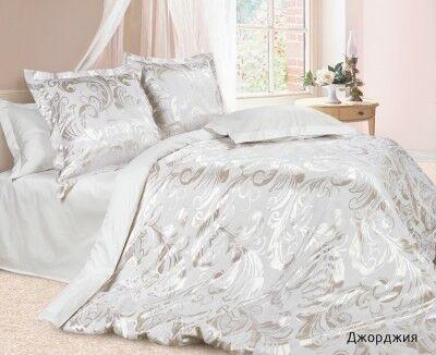 Подарок Ecotex Элитный комплект постельного белья Джорджия Эстетика - фото 1