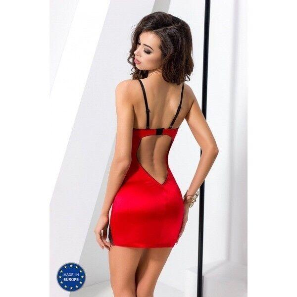 Интим-магазин Passion Красная сорочка Brida S/M арт. 5,90831E+12 - фото 2