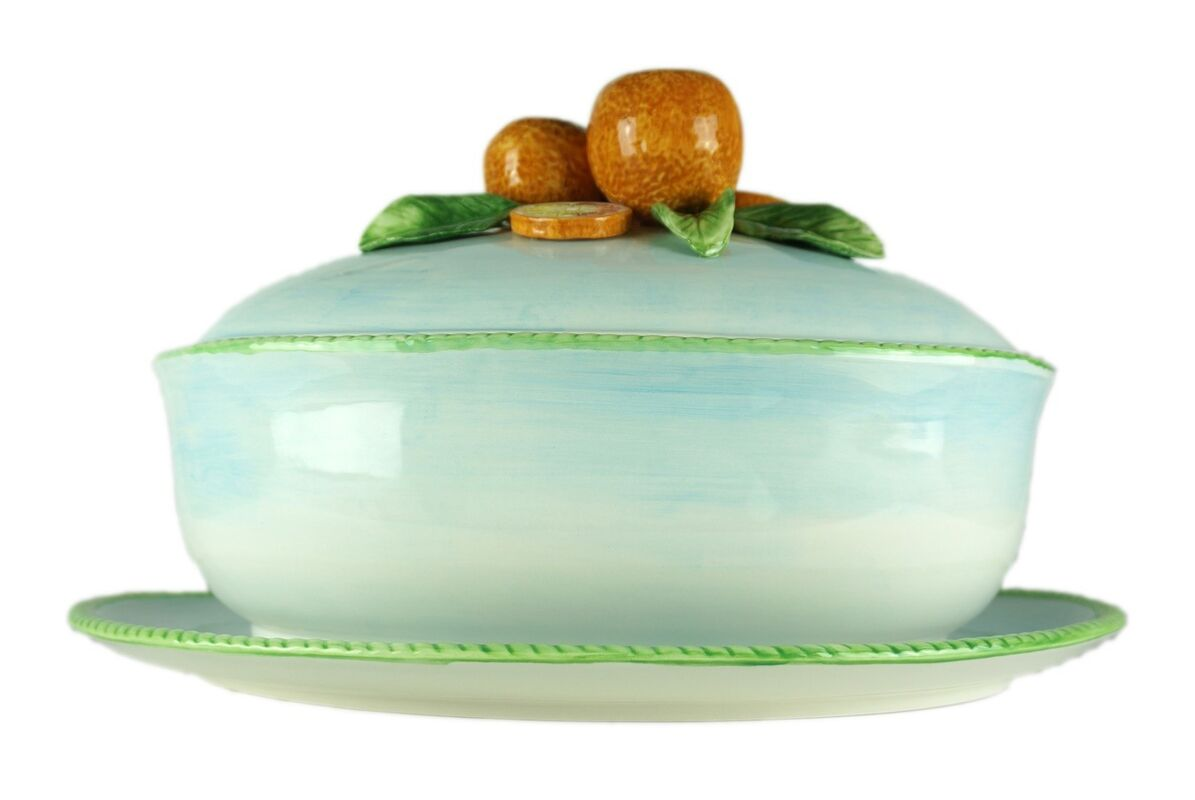 Подарок Aura Doma Супница керамическая, серия «Мандарины», 2184/A - фото 1