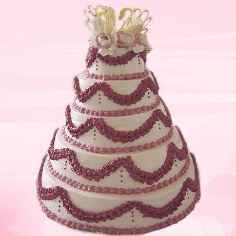 Торт Милано Свадебный торт №11 - фото 1