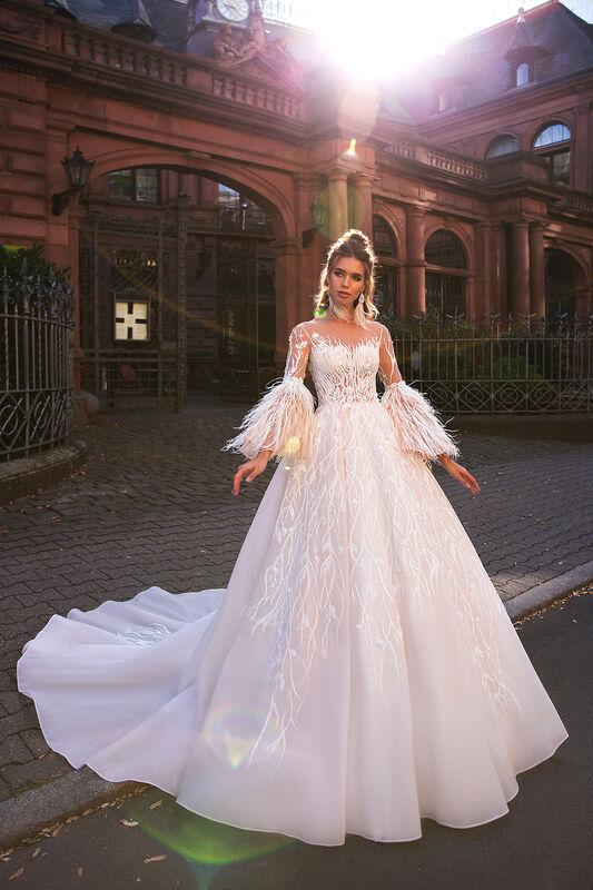 Свадебный салон Vanilla room Свадебное платье Абигайль - фото 4