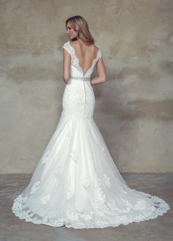 Свадебное платье напрокат Mia Solano Платье свадебное «Becca» - фото 2