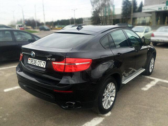 Прокат авто BMW X6 черный 3.5 л - фото 2