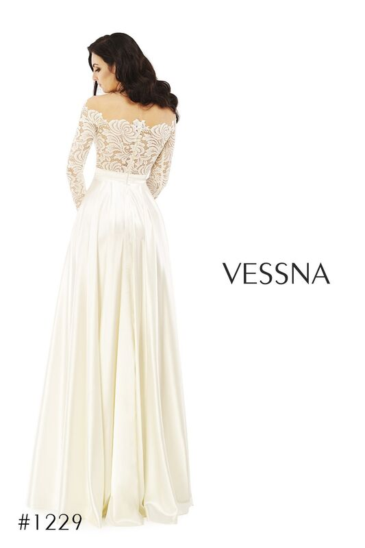 Вечернее платье Vessna Вечернее платье арт.1229 из коллекции VESSNA Party - фото 2