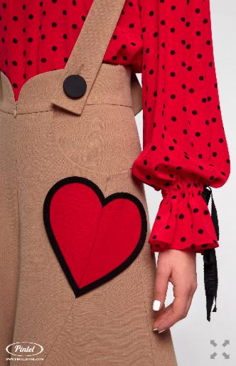 Костюм женский Pintel™ Комплект из блузы и брюк Manolis - фото 4