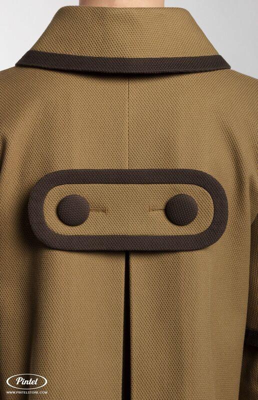 Костюм женский Pintel™ Костюм из плотного фактурного хлопка Amber - фото 3