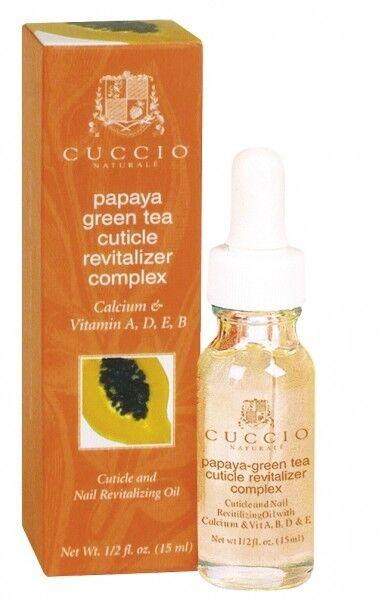 Уход за телом Cuccio Naturale Масло для кутикулы с экстрактом папайи и зеленого чая - фото 1