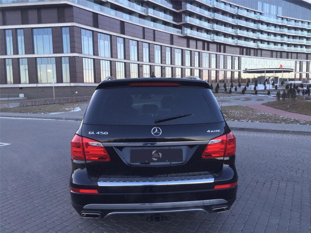 Прокат авто Mercedes-Benz GL 500 - фото 7