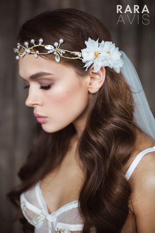 Свадебный аксессуар Rara Avis Украшение для волос №6 - фото 1