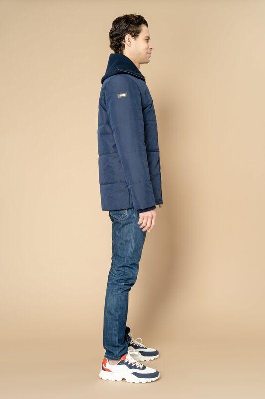 Верхняя одежда мужская Etelier Куртка мужская плащевая утепленная 4М-8523-1 - фото 5