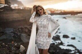 Свадебное платье напрокат Blammo-Biamo Свадебное платье Dream Ocean Rona - фото 5