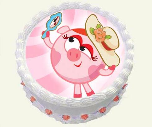 Торт Tortas Торт «Смешарики» №1 - фото 1