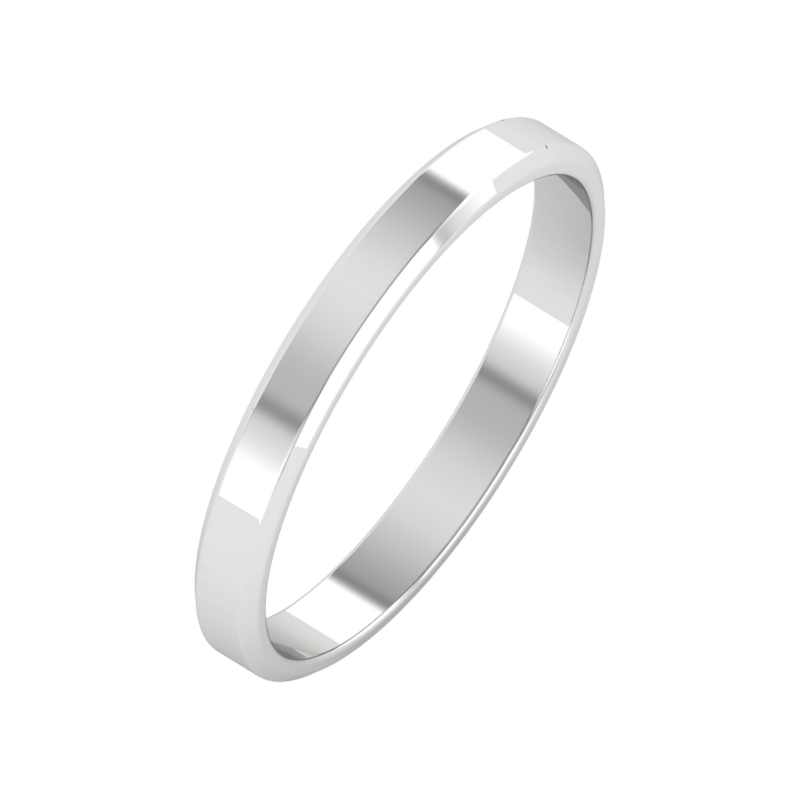 Ювелирный салон ZORKA Обручальное кольцо 143022/W - фото 1