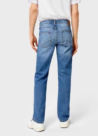 Брюки мужские O'stin Базовые мужские прямые джинсы MPD101-D5 - фото 2