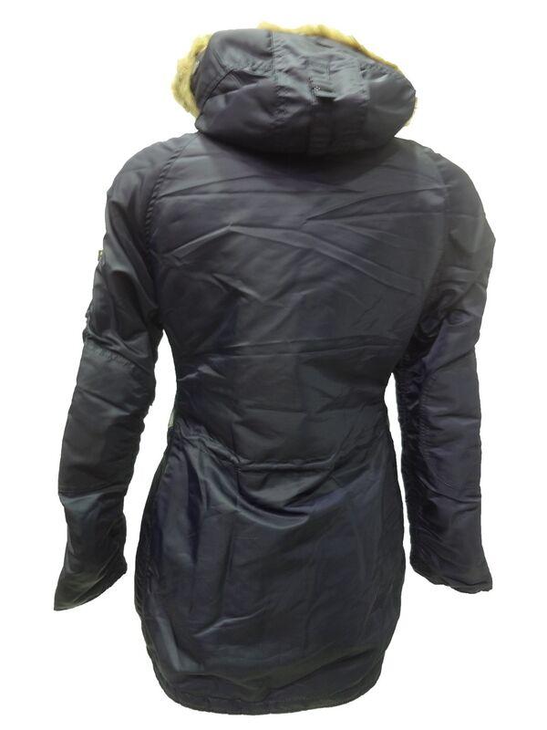 Спортивная одежда Alpha Industries Женская куртка-аляска N-3B - фото 5