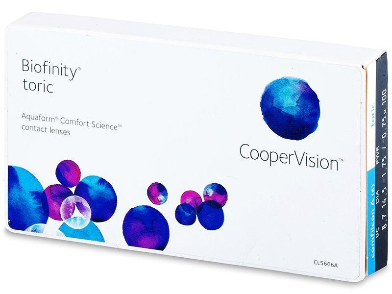 Линзы Cooper Vision Контактные линзы Biofinity toric - фото 1