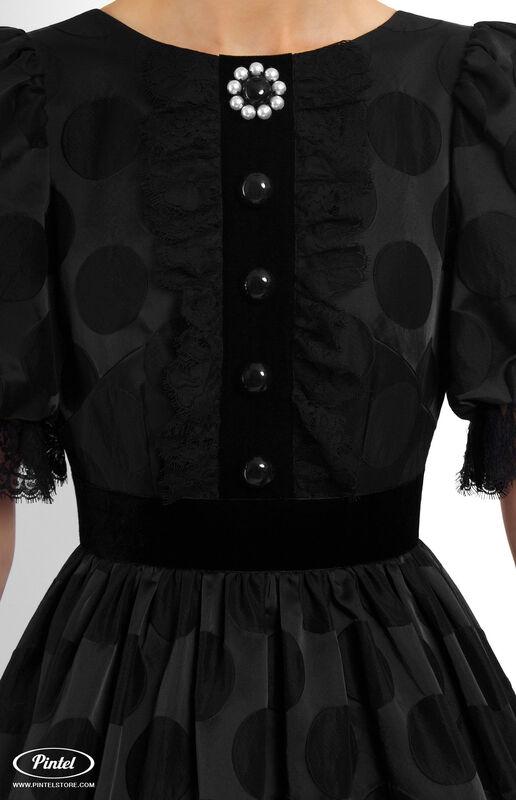 Платье женское Pintel™ Приталенное платье с широкой юбкой Emerissa - фото 4