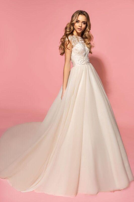 Свадебное платье напрокат Eva Lendel Платье свадебное Olivia - фото 1