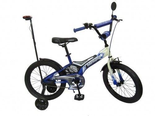 Велосипед Amigo Велосипед детский с мигалкой Police 20 - фото 1
