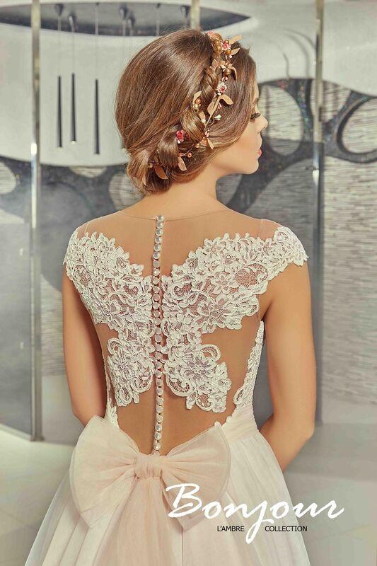 Свадебное платье напрокат Bonjour Платье свадебное «Martina» из коллекции LAMBRE 2017 - фото 3