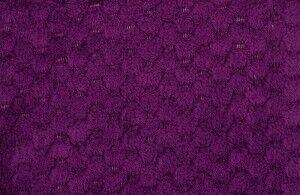 Подарок Ecotex Декоративный флисовый плед 150х200 Elegance Фиолетовый - фото 3