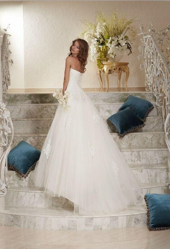 Свадебное платье напрокат Armonia Cвадебное платье Milana - фото 2