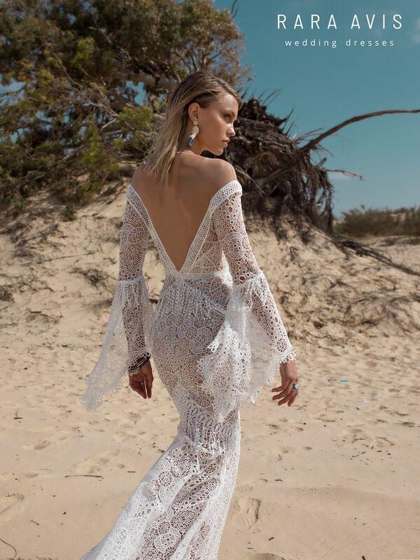 Свадебное платье напрокат Rara Avis Свадебное платье Wild Soul Luchian - фото 5