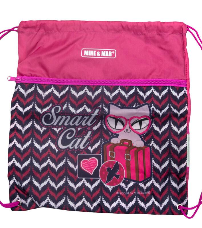 Магазин сумок Mike&Mar Рюкзак школьный 1074-ММ-126 + оригинальный рюкзак для обуви - фото 3