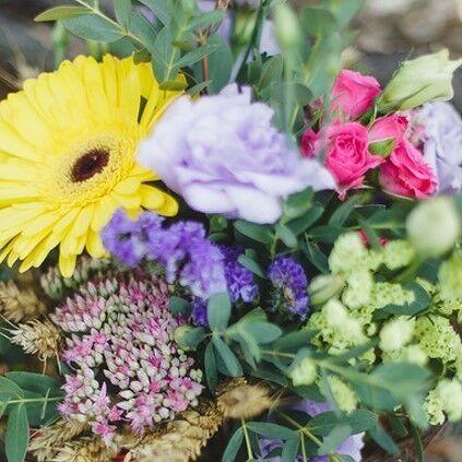 "Магазин цветов Долина цветов Букет  ""Цветы осени"" - фото 1"